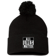 Load image into Gallery viewer, CustomCat Hats Black / One Size All Lives Matter SP15 Pom Pom Knit Cap (12 Variants)