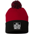 Load image into Gallery viewer, CustomCat Hats Black/Red / One Size All Lives Matter SP15 Pom Pom Knit Cap (12 Variants)