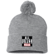 Load image into Gallery viewer, CustomCat Hats Heather Grey/ / One Size All Lives MAGA SP15 Pom Pom Knit Cap (12 Variants)