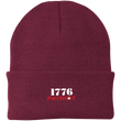 Load image into Gallery viewer, CustomCat Hats Maroon / One Size 1776 Patriot CP90 Knit Cap (16 Variants)