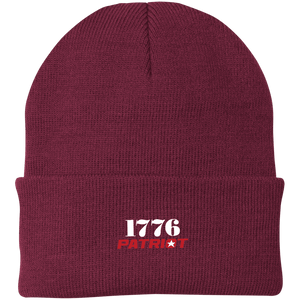 CustomCat Hats Maroon / One Size 1776 Patriot CP90 Knit Cap (16 Variants)