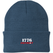 Load image into Gallery viewer, CustomCat Hats Millennium Blue / One Size 1776 Patriot CP90 Knit Cap (16 Variants)