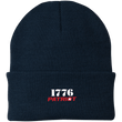 Load image into Gallery viewer, CustomCat Hats Navy / One Size 1776 Patriot CP90 Knit Cap (16 Variants)