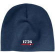 Load image into Gallery viewer, CustomCat Hats Navy / One Size 1776 Patriot CP91 100% Acrylic Beanie (5 Variants)