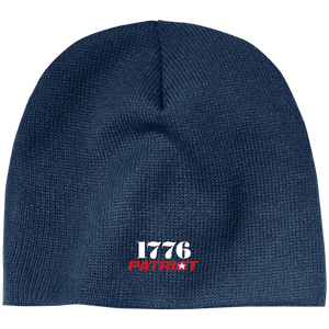 CustomCat Hats Navy / One Size 1776 Patriot CP91 100% Acrylic Beanie (5 Variants)