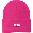 Load image into Gallery viewer, CustomCat Hats Neon Pink / One Size 1776 Patriot CP90 Knit Cap (16 Variants)