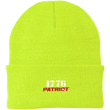 Load image into Gallery viewer, CustomCat Hats Neon Yellow / One Size 1776 Patriot CP90 Knit Cap (16 Variants)