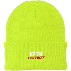 CustomCat Hats Neon Yellow / One Size 1776 Patriot CP90 Knit Cap (16 Variants)