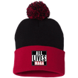 Load image into Gallery viewer, CustomCat Hats Red/Black / One Size All Lives MAGA SP15 Pom Pom Knit Cap (12 Variants)
