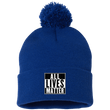 Load image into Gallery viewer, CustomCat Hats Royal / One Size All Lives Matter SP15 Pom Pom Knit Cap (12 Variants)