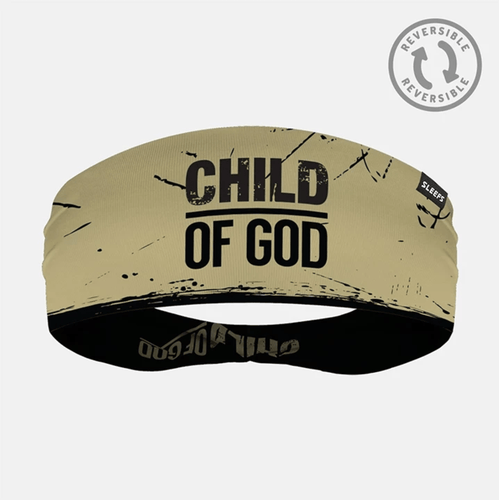 SLEEFS Headband Gold/Black / One Size Demario Davis' Child Of God Reversible Headband