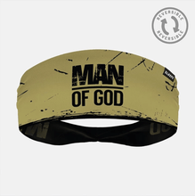 Load image into Gallery viewer, SLEEFS Headband Gold/Black / One Size Demario Davis' Man Of God Reversible Headband (2 Variants)
