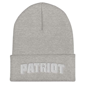 American Patriots Apparel Heather Grey Patriot Star Cuffed Beanie (6 Variants)