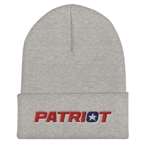 American Patriots Apparel Heather Grey Star Patriot Cuffed Beanie (6 Variants)