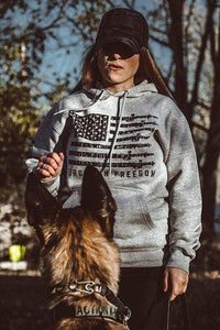 Howitzer Clothing Ladies Hoodie Forged in Freedom Hoodie