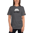 Load image into Gallery viewer, American Patriots Apparel Ladies T-Shirt Asphalt / S KJV ONLY! Psalm 12:6-7 Fine Jersey T-Shirt (16 Variants)