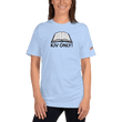 Load image into Gallery viewer, American Patriots Apparel Ladies T-Shirt Baby Blue / S KJV ONLY! Psalm 12:6-7 Fine Jersey T-Shirt (16 Variants)