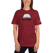 Load image into Gallery viewer, American Patriots Apparel Ladies T-Shirt Cranberry / XL KJV ONLY! Psalm 12:6-7 Fine Jersey T-Shirt (16 Variants)