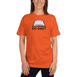 Load image into Gallery viewer, American Patriots Apparel Ladies T-Shirt Orange / S KJV ONLY! Psalm 12:6-7 Fine Jersey T-Shirt (16 Variants)
