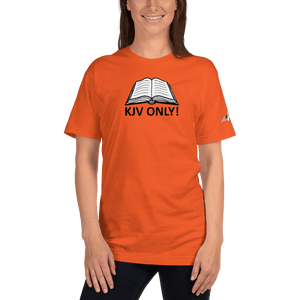 American Patriots Apparel Ladies T-Shirt Orange / S KJV ONLY! Psalm 12:6-7 Fine Jersey T-Shirt (16 Variants)