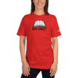 Load image into Gallery viewer, American Patriots Apparel Ladies T-Shirt Red / S KJV ONLY! Psalm 12:6-7 Fine Jersey T-Shirt (16 Variants)