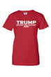 Load image into Gallery viewer, American Patriots Apparel Ladies T-Shirt Red / XL / FRONT Junior's Trump Drain the Swamp Short Sleeve Shirt (3 Variants)