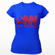 Load image into Gallery viewer, Right Wing Gear Ladies T-Shirt S / Royal Blue Corrupt News Network Women's Cotton Tee Shirt (3 Variants)