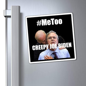 Printify Magnet Creepy Joe Biden Magnet (3 Sizes)