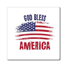 Load image into Gallery viewer, Printify Magnet God Bless America Magnet (3 Sizes)