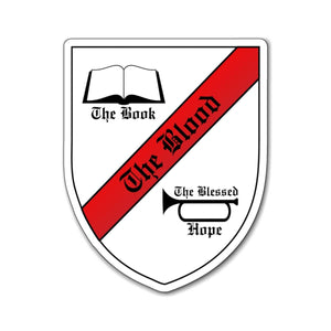 Printify Magnet The Book The Blood The Blessed Hope Magnet (3 Sizes)