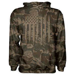 Greater Half Men's Hoodie American Flag (Stars & Stripes) / S Rhodesian We The People HOODIE