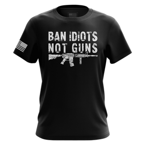 Tactical Pro Supply Men's Hoodie Ban Idiots Not Guns | Hoodie