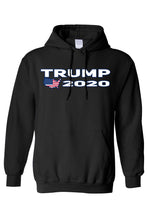 Load image into Gallery viewer, American Patriots Apparel Men's Hoodie Black / 5XL / FRONT Trump USA 2020 Pullover Hoodie (4 Variants)