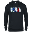 Load image into Gallery viewer, CustomCat Men's Hoodie Black / X-Small USA Statue of Liberty Delta French Terry Hoodie (11 Variants)
