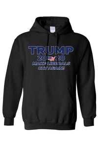American Patriots Apparel Men's Hoodie Black / XLARGE / FRONT Trump 2020 Make Liberals Cry Again Pullover Hoodie (4 Variants)