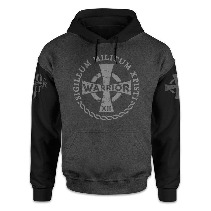 Warrior 12 Men's Hoodie Burgundy / S Warrior of Christ Hoodie
