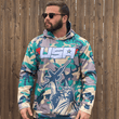 Load image into Gallery viewer, Print Brains Men's Hoodie Camo Liberty Hoodie