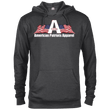 Load image into Gallery viewer, American Patriots Apparel Logo With Text Delta French Terry Hoodie (11 Variants) - American Patriots Apparel