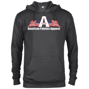 American Patriots Apparel Logo With Text Delta French Terry Hoodie (11 Variants) - American Patriots Apparel