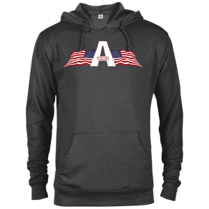 CustomCat Men's Hoodie Charcoal Heather / XS American Patriots Apparel Logo Delta French Terry Hoodie (11 Variants)