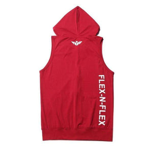 American Patriots Apparel Men's Hoodie FLEX-N-FLEX SLEEVELESS ZIPPER HOODIE (2 Variants)