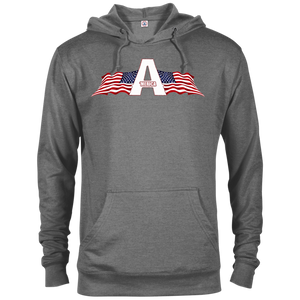 CustomCat Men's Hoodie Graphite Heather / XS American Patriots Apparel Logo Delta French Terry Hoodie (11 Variants)
