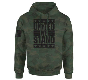 Howitzer Clothing Men's Hoodie Green Camo / S Stand Po Hood