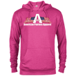 Load image into Gallery viewer, CustomCat Men's Hoodie Heliconia Heather / X-Small American Patriots Apparel Logo With Text Delta French Terry Hoodie (11 Variants)