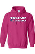 Load image into Gallery viewer, American Patriots Apparel Men's Hoodie HotPink / 5XL / FRONT Trump USA 2020 Pullover Hoodie (4 Variants)