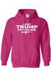 Load image into Gallery viewer, American Patriots Apparel Men's Hoodie HotPink / XLARGE / FRONT 2020 Trump Support the 2nd Amendment Pullover Hoodie (3 Variants)