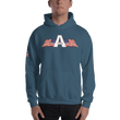 Load image into Gallery viewer, American Patriots Apparel Logo Hoodie With Reverse Side Flag on Right Sleeve (8 Variants) - American Patriots Apparel