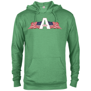 CustomCat Men's Hoodie Kelly Heather / XS American Patriots Apparel Logo Delta French Terry Hoodie (11 Variants)