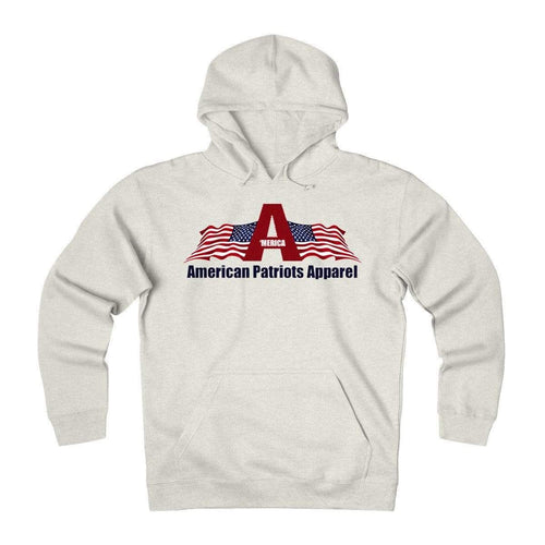 American Patriots Apparel Men's Hoodie Oatmeal Heather / L American Patriots Apparel Amendment 2 Unisex Hoodie W/Navy Text (7 Variants)