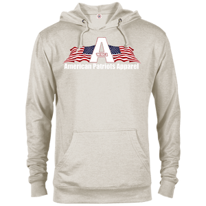 CustomCat Men's Hoodie Oatmeal Heather / X-Small American Patriots Apparel Logo With Text Delta French Terry Hoodie (11 Variants)